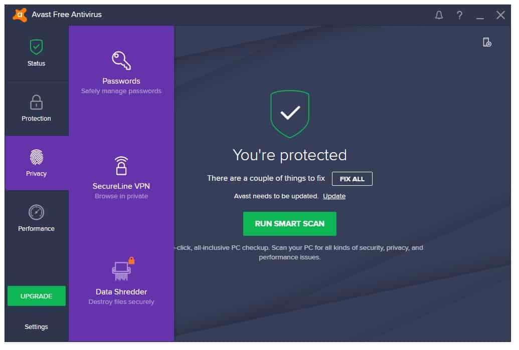 AVAST Free Antivirus 2017