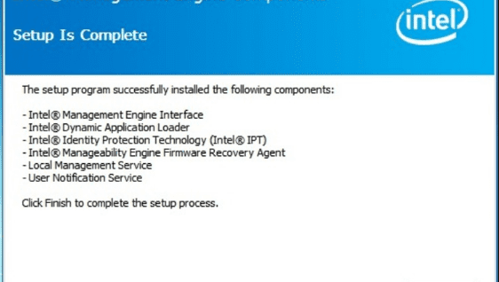 Intel(R) Management Engine Interface